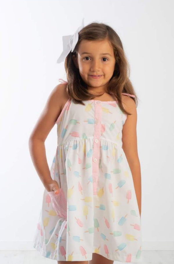 SS20 Meia Pata Girls Ice Lolly Beach Dress
