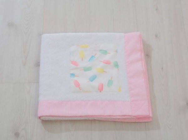 SS20 Meia Pata Ice Lolly Beach Towel