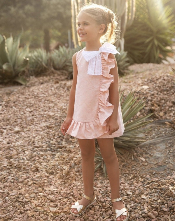 SS21 Rochy Girls Bouquet Pink A Line Dress