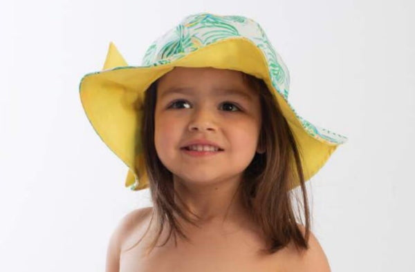 SS20 Meia Pata Girls Parrot Beach Hat