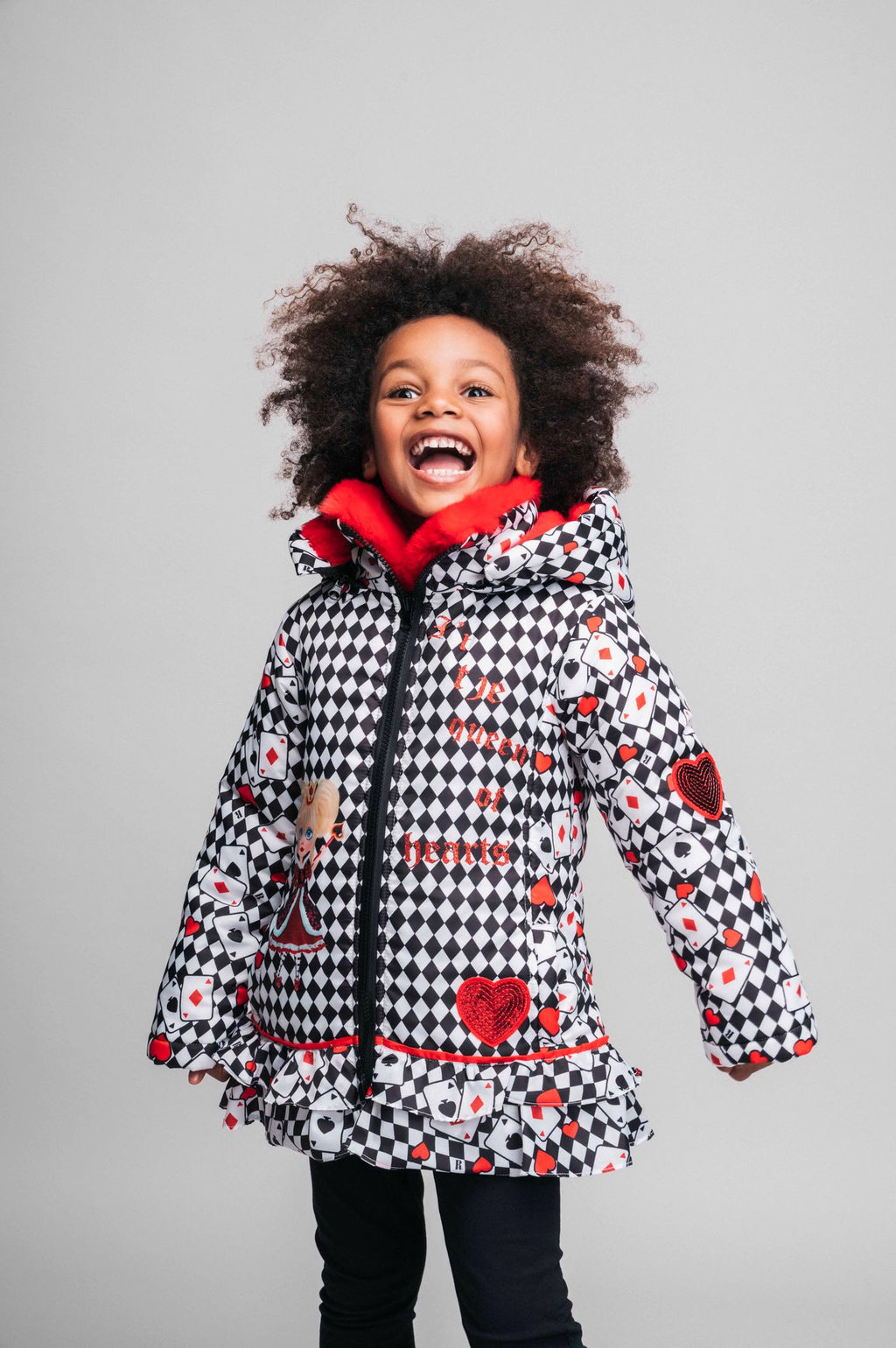 PRE-ORDER AW20 Rosalita Girls Chiquinta Queen Of Hearts Coat