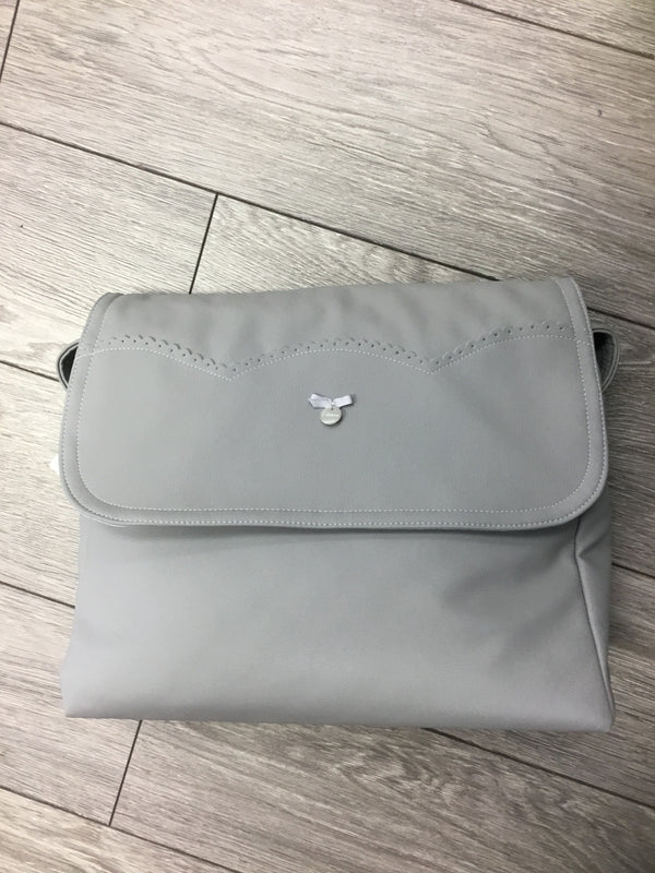 Uzturre Grey Frill Trim Changing Bag