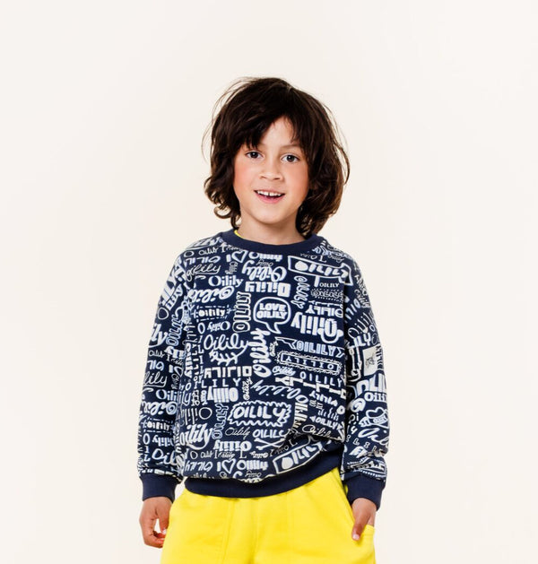 SS20 Oilily Heritage Navy Logo Sweater 58