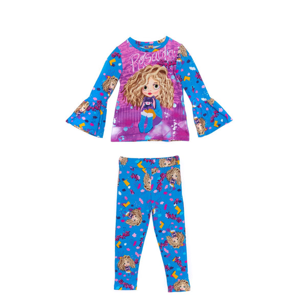 AW20 Rosalita Girls Cochecito Dolls Leggings Set