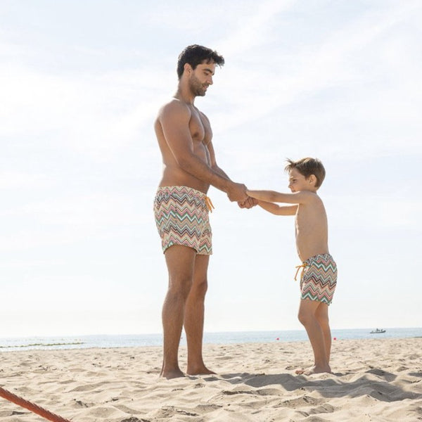 SS21 Rochy Boys Zig Zag Swimming Trunks