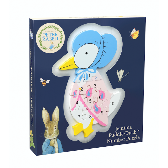 Orange Tree Jemima Puddle-Duck Number Puzzle