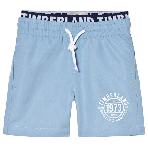 SS18 Timberland Boys Blue Swim Shorts