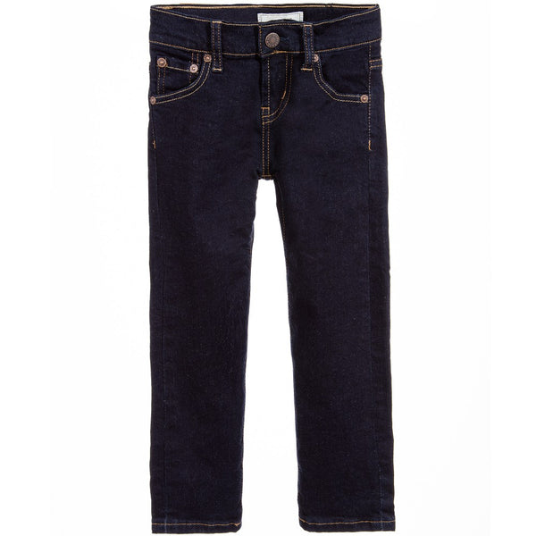 AW18 Levi's Boys Dark Blue Denim '510' Skinny Jeans