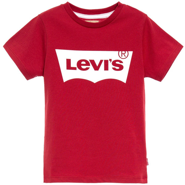 AW18 Levi's Boys Red & White Logo