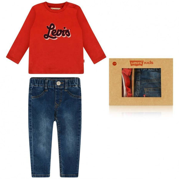 AW18 Levi's Baby Boys First Jeans Set