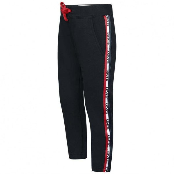 AW18 Levi's Boys Black Branded Tracksuit Bottoms