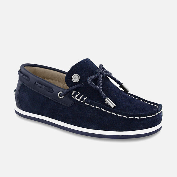SS18 Mayoral Navy Perforated Moccasins 43903