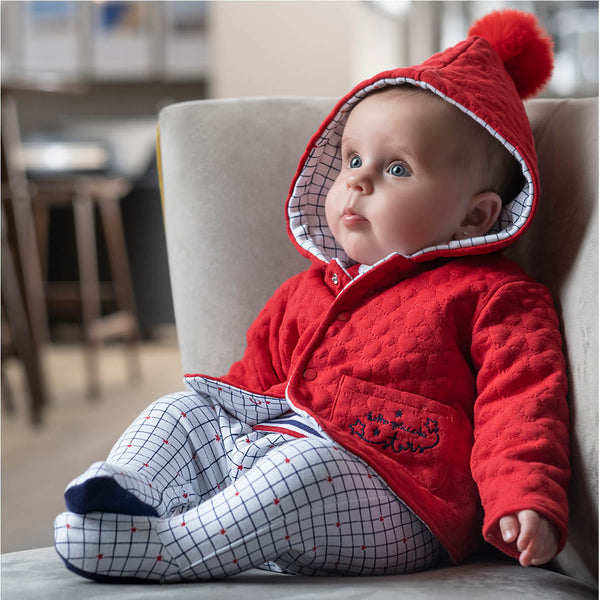 AW20 Tutto Piccolo Baby Red Pram Coat 9396