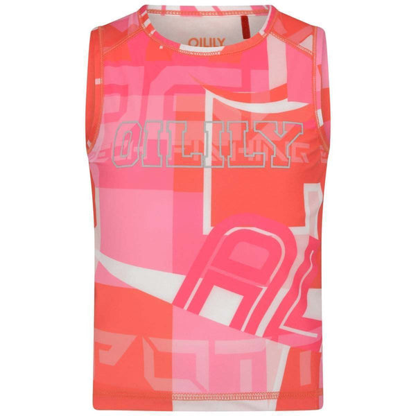 SS19 Oilily Girls Tij Sleeveless Top 20 Urban Kurk Kite
