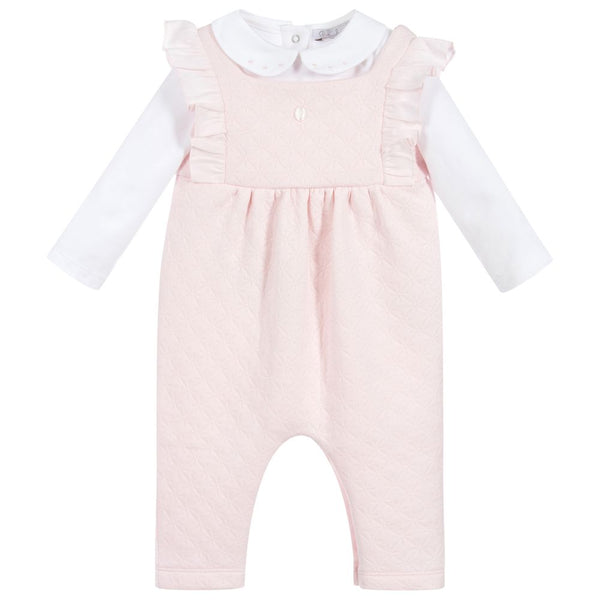 AW20 Patachou Baby Girls Pink Romper Set