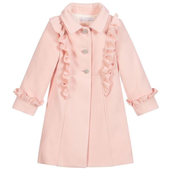 AW20 Patachou Girls Traditional Pink Coat