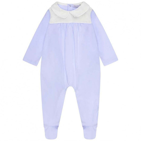 SS19 Patachou Baby Boys Blue & White Babygrow