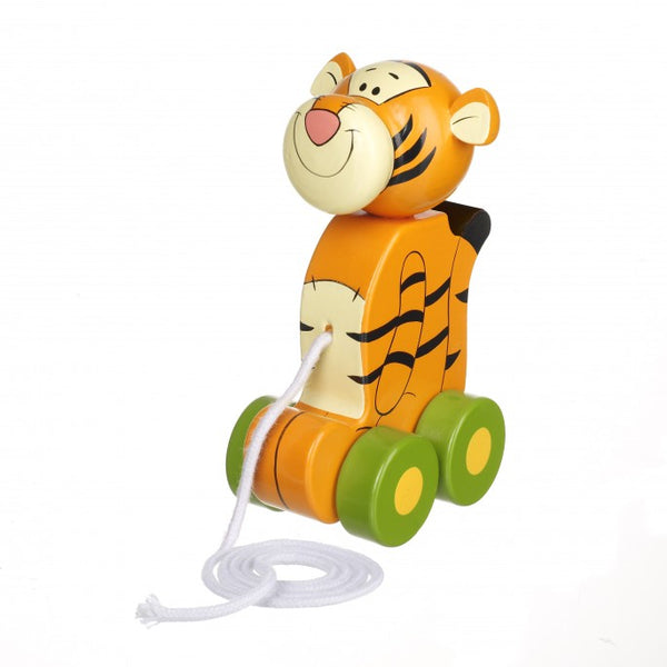 Orange Tree Winnie The Pooh Tigger Pull Along