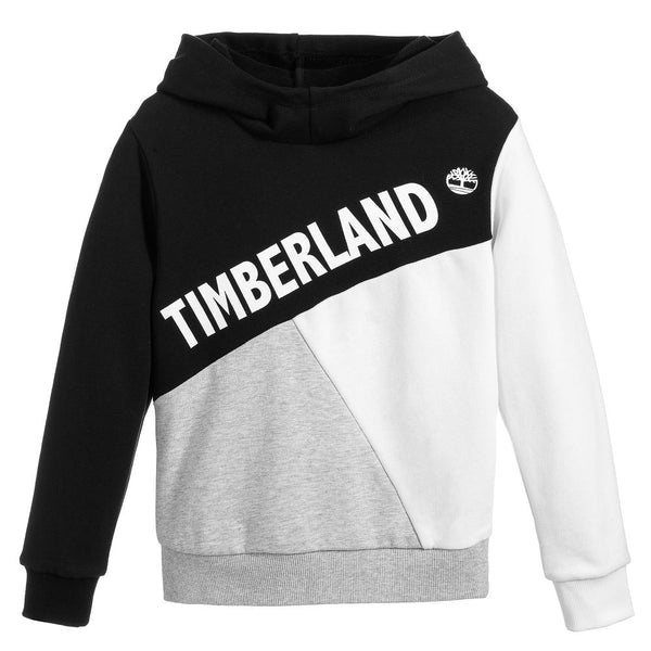 SS19 Timberland Boys Black, Grey & White Tracksuit