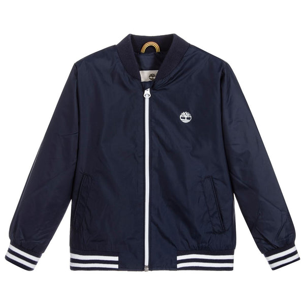 SS18 Timberland Boys Navy Blue Bomber Jacket