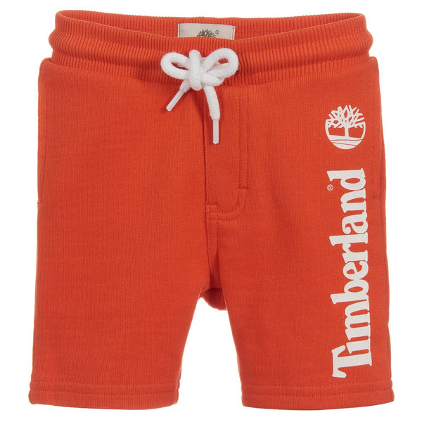 SS19 Timberland Boys Orange Jersey Shorts