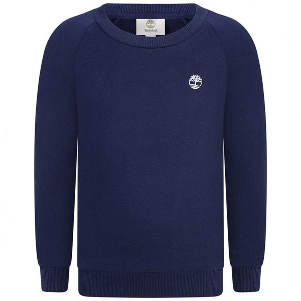AW20 Timberland Boys Navy Blue Sweatshirt