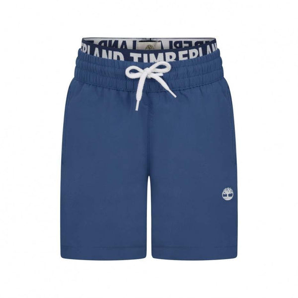 SS19 Timberland Boys Blue Swim Shorts