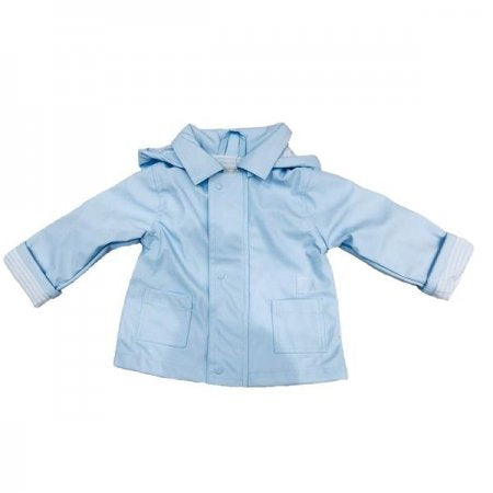 SS18 Tutto Piccolo Sky Blue Raincoat 4646