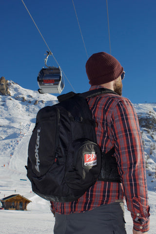 Ski & snowboard back pack