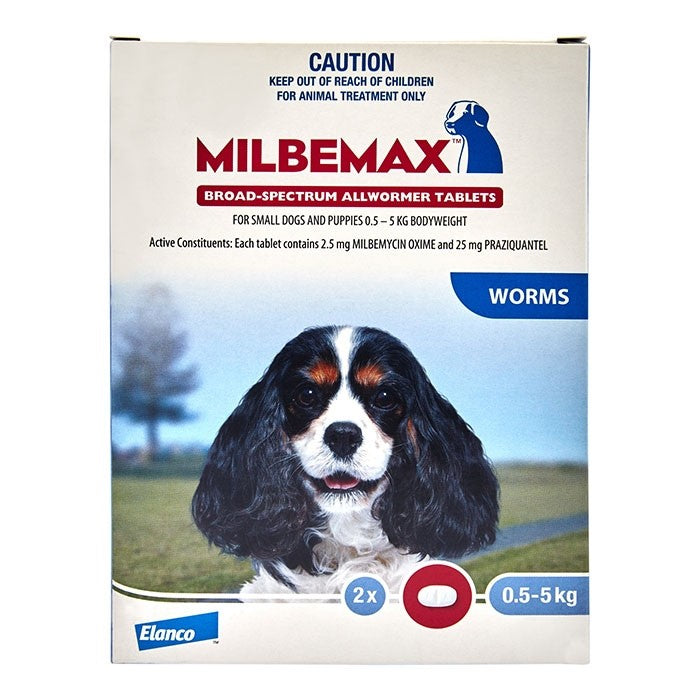 Milbemax for Dogs 2pk