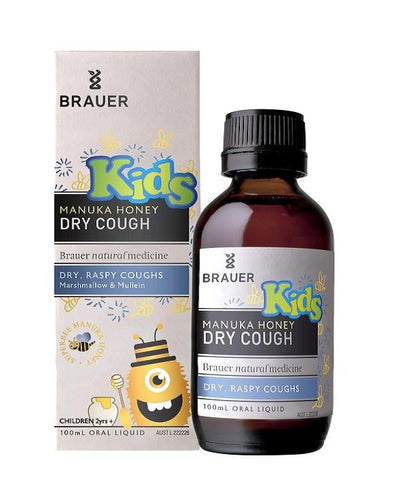 Brauer Manuka Honey Dry Cough