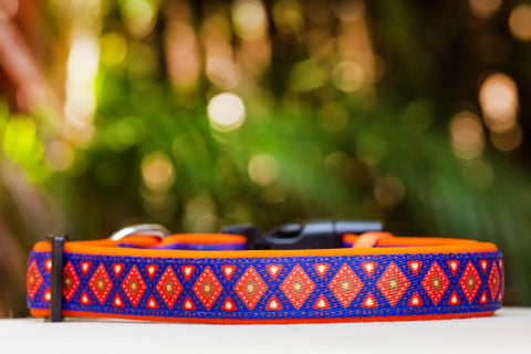 Matombe Aztec Dog Collar