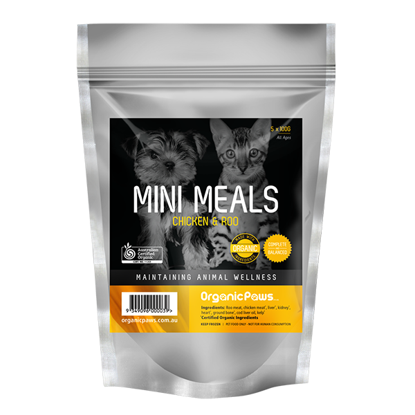 Mini Meals Chicken & Roo 500g (Frozen Product)