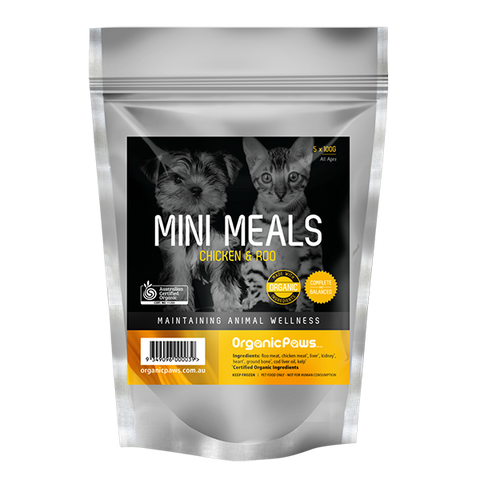 Mini Meals Chicken & Roo 500g (Local Store Pick-Up Only)