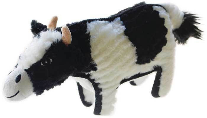 Ruff Play Plush Tuff Cow