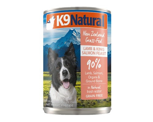 K9 Natural Lamb & Salmon Canned 370g
