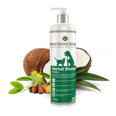 Natural Animal Solutions Herbal Shampoo Sensitive 375ml