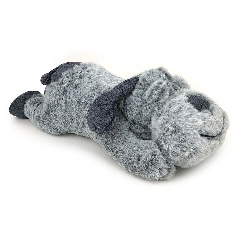 Snuggle Friends Plush Dog Large Grey