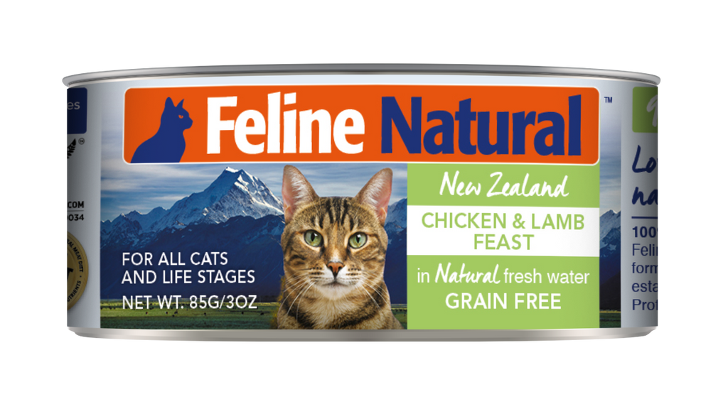 Feline Natural Chicken & Lamb Feast Canned