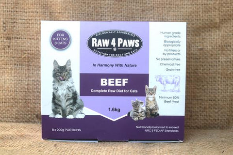 Raw 4 Paws Cat Rolls 1.6kg