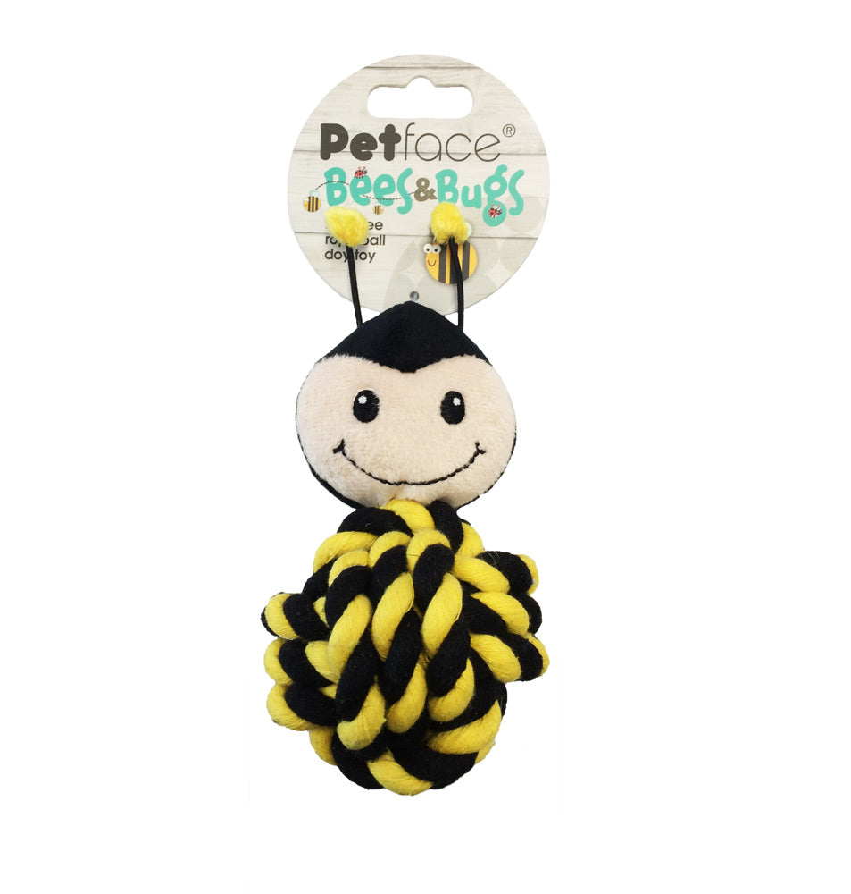 Bees & Bugs Bert Bee Rope Ball