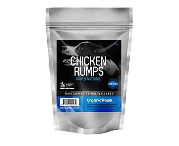 Certified Organic Chicken Rumps 900g (Frozen Product)