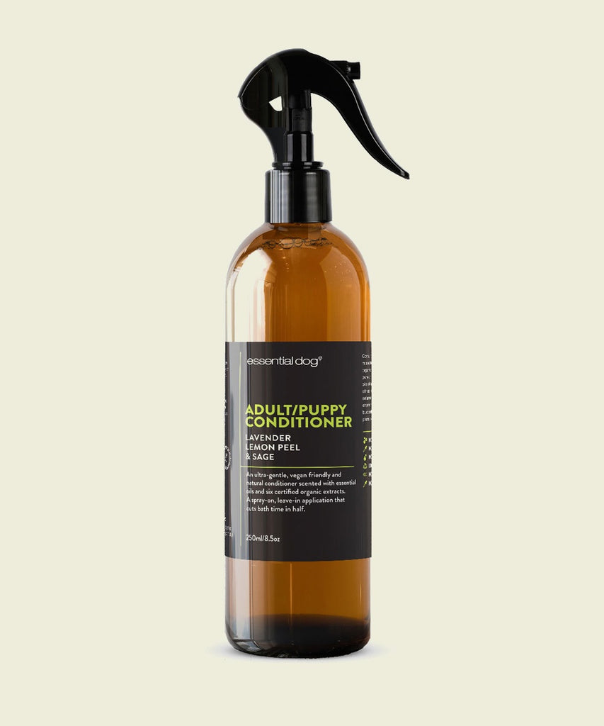 Dog Conditioner: Lavender, Lemon Peel & Clary Sage (ADULTS & PUPPIES)