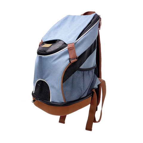Denim Fun Lightweight Pet Backpack