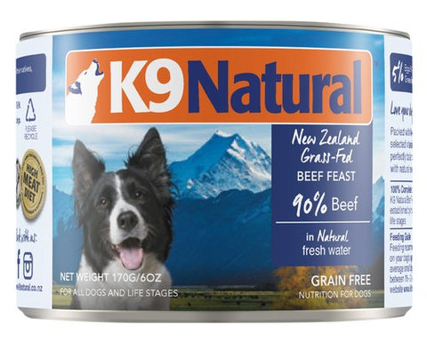 K9 Natural Beef Feast Canned