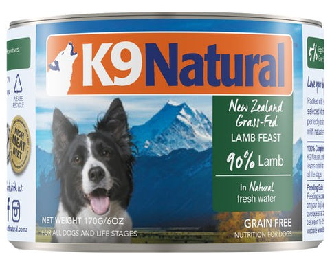 K9 Natural Lamb Feast Canned