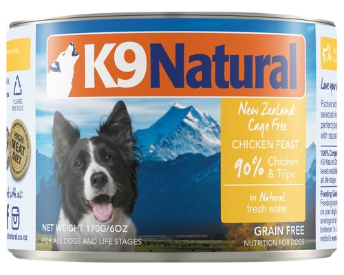 K9 Natural Chicken Feast Canned