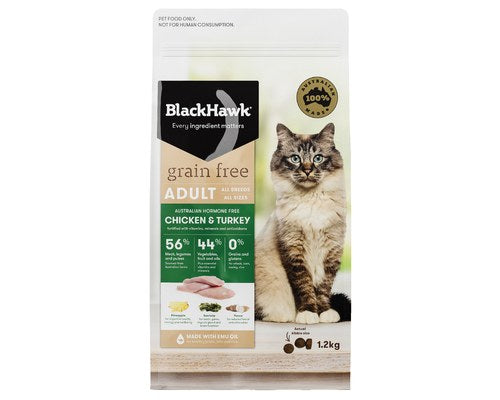 BlackHawk Cat GF Chicken & Turkey
