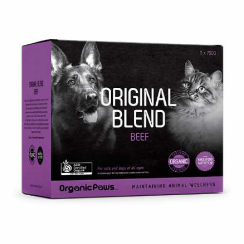 Organic Paws Raw Food For Dogs & Cats (Frozen Product)