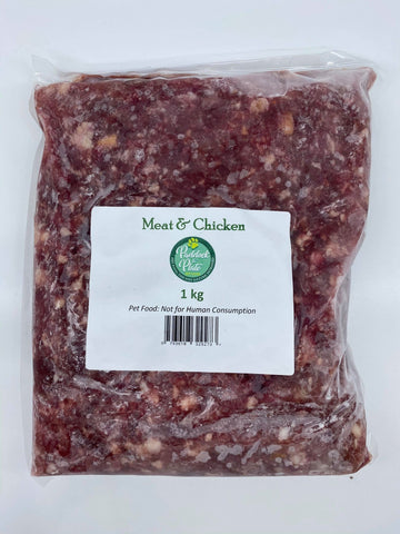 Paddock to Plate Beef Meat & Chicken (Necks) 1kg (Local Store Pick-Up Only)
